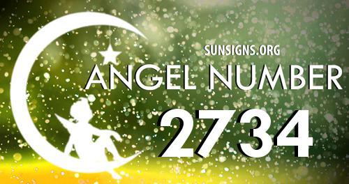 angel number 2734