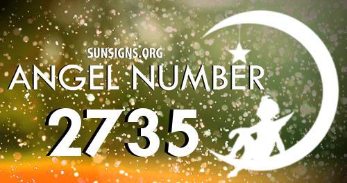 angel number 2735