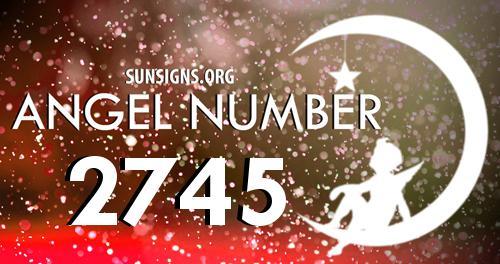 angel number 2745