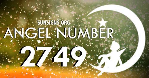 angel number 2749