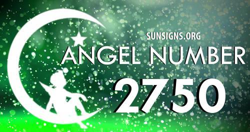 angel number 2750