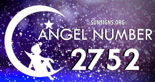 angel number 2752