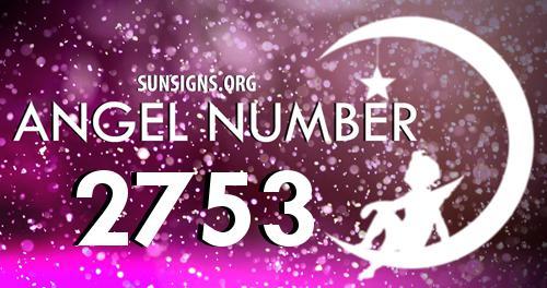 angel number 2753