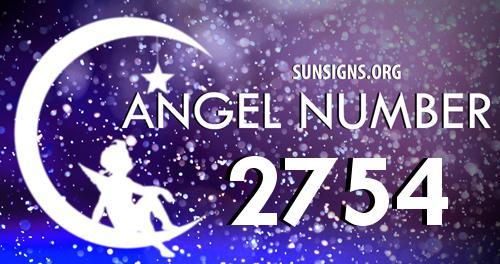 angel number 2754