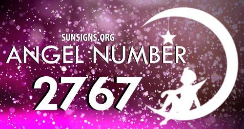 angel number 2767