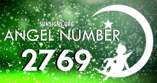 angel number 2769