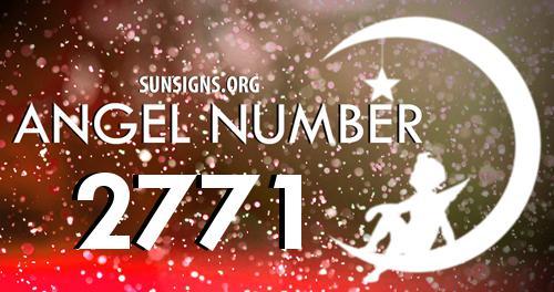 angel number 2771