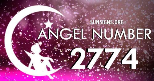 angel number 2774