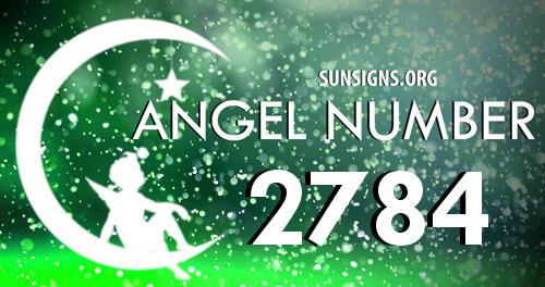 angel number 2784