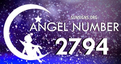 angel number 2794