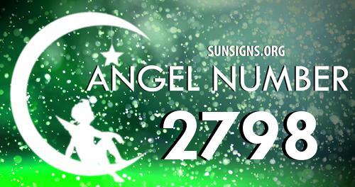 angel number 2798