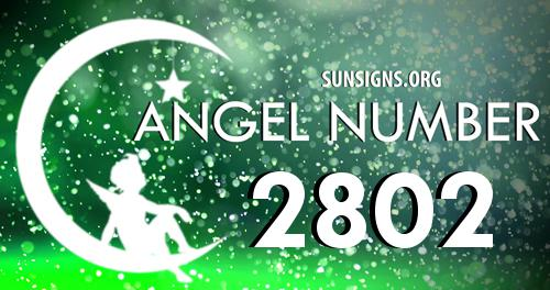 angel number 2802