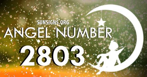 angel number 2803