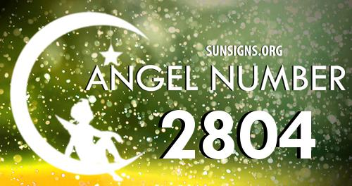 angel number 2804