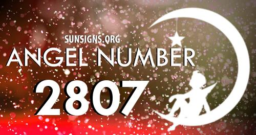 angel number 2807