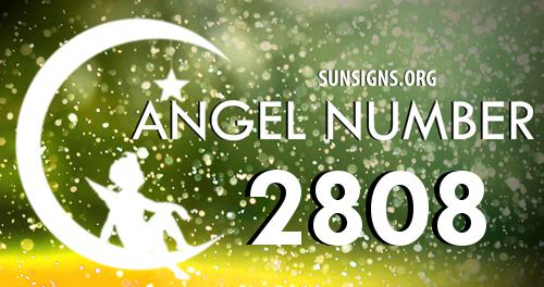 angel number 2808