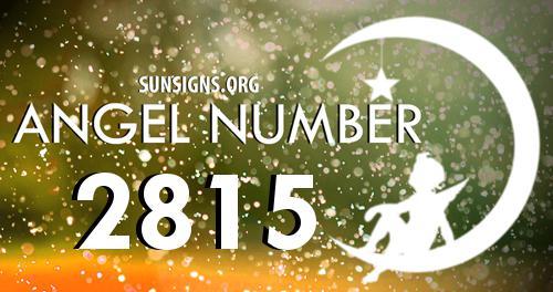 angel number 2815