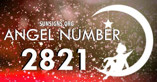 angel number 2821