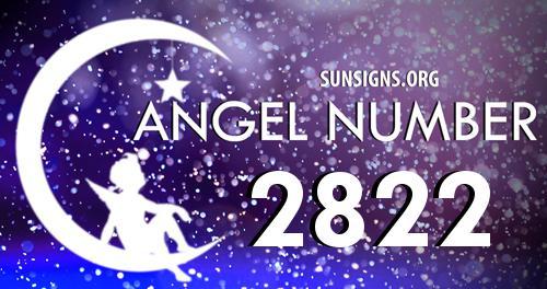 angel number 2822