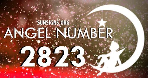 angel number 2823