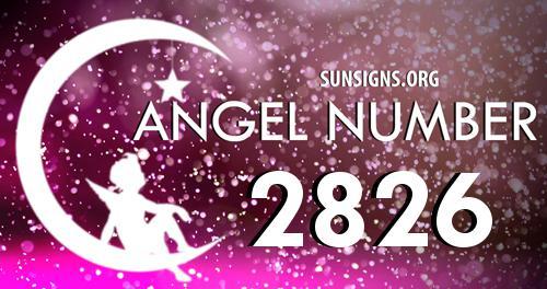 angel number 2826