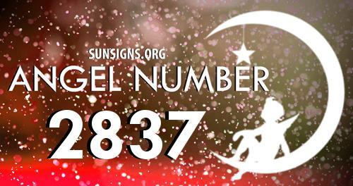 angel number 2837
