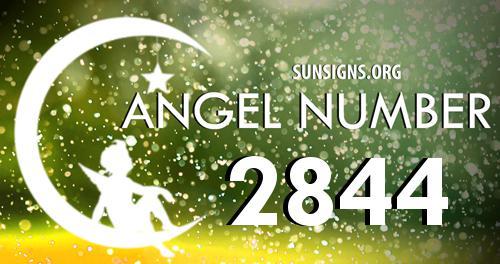 angel number 2844