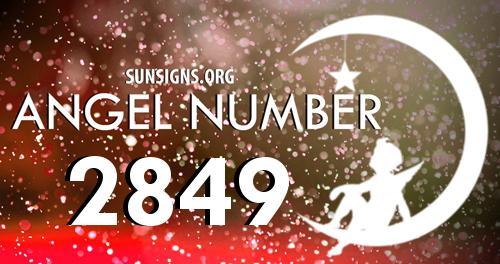 angel number 2849