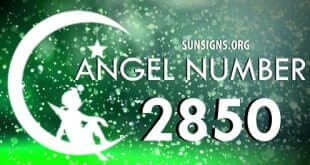 angel number 2850