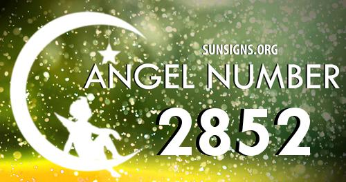 angel number 2852