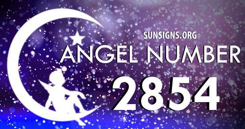 angel number 2854