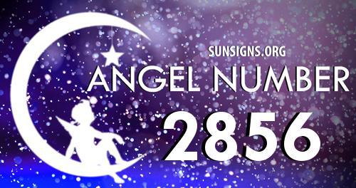 angel number 2856