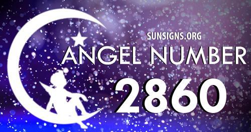 angel number 2860