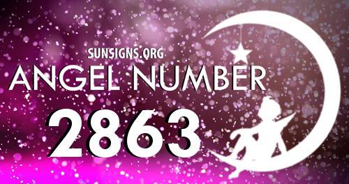 angel number 2863