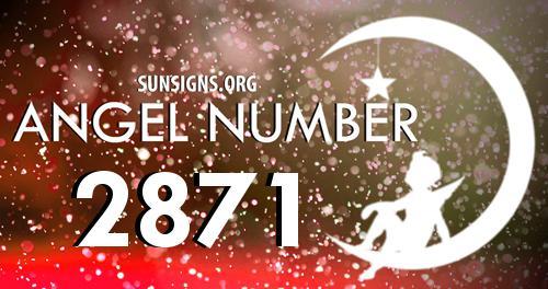 angel number 2871
