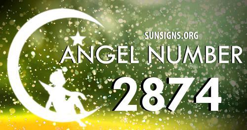 angel number 2874