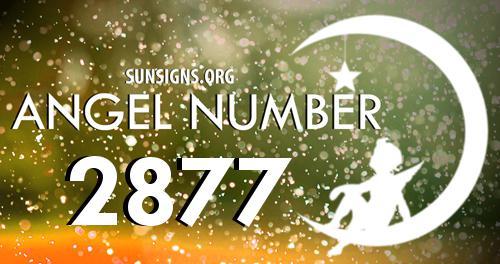 angel number 2877