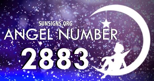 angel number 2883