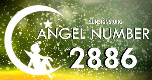 angel number 2886