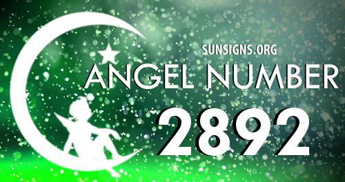 angel number 2892