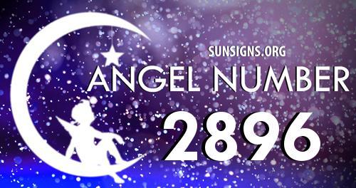 angel number 2896