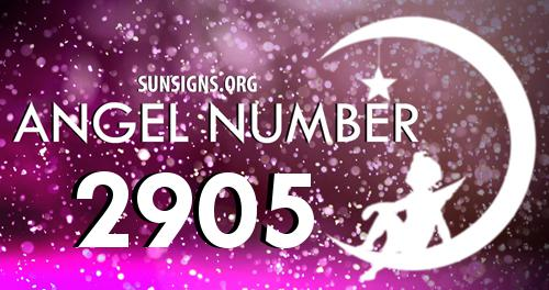 angel number 2905