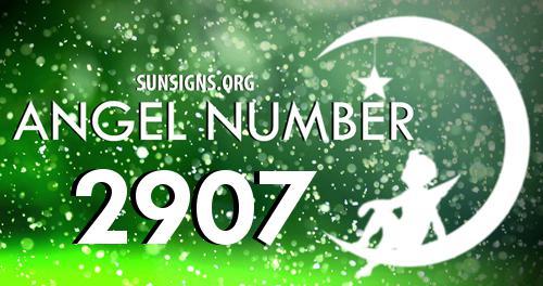 angel number 2907