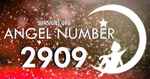 angel number 2909