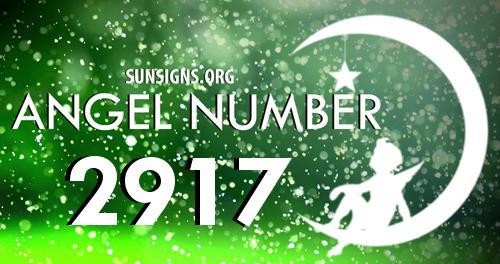 angel number 2917