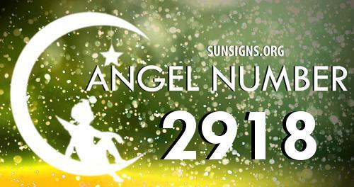 angel number 2918