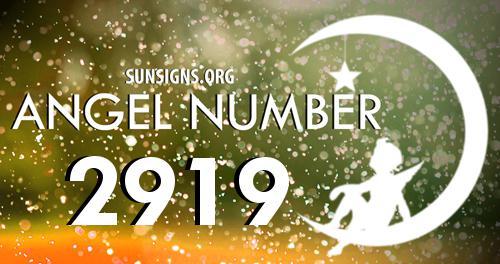 angel number 2919