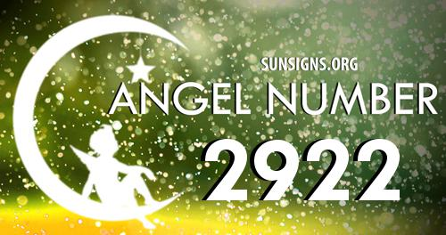 angel number 2922