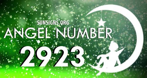 angel number 2923