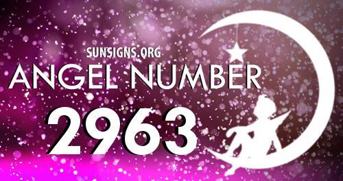 angel number 2963